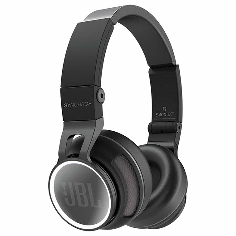 JBL Synchros S400BT Wireless Kopfhörer (40mm Treiber, NFC, aptX, 115dB, 15h Akku)