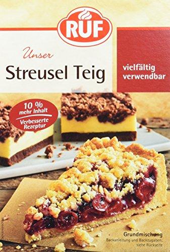 RUF Lebensmittelwerk Streuselteig, 8er Pack (8 x 450 g)
