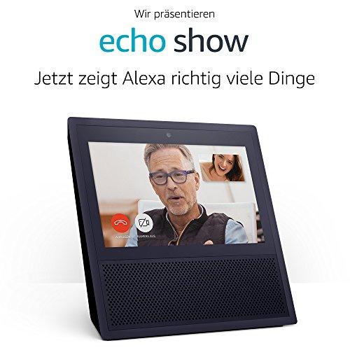 Echo Show, 1.Gen, Zertifiziert und generalüberholt