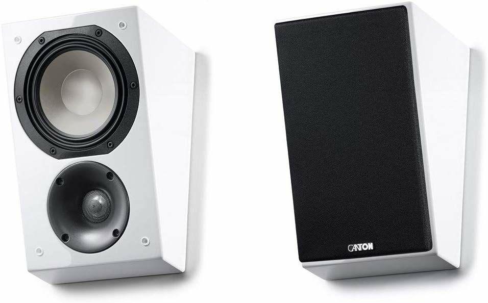 Canton AR-500 Dolby Atmos-Lautsprecher (Paarpreis, 2-Wege, 2,5cm Hochtöner, 16cm Tieftöner, 50Hz - 30kHz, 86dB)