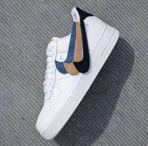 """Nike Air Force 1 """"Removable Swoosh"""""""
