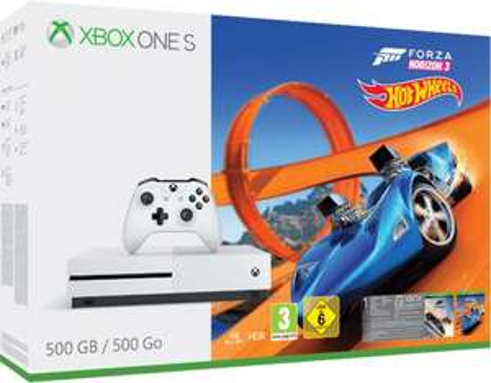 Xbox One S 500GB inkl. Forza Horizon + Hot Wheels + FIFA 20 für 129,99€