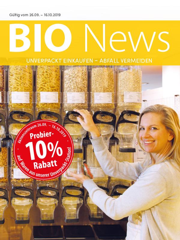 [basic Bio-Markt] 10 % Rabatt auf alle unverpackten Lebensmittel