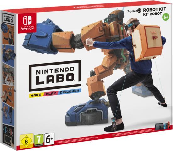 Nintendo Labo: Toy-Con 02 - Robot Kit (Switch) für 19,99€ (GameStop)
