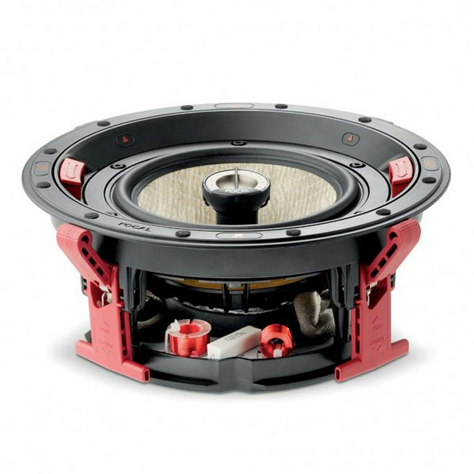 Focal 300 ICW 8 Koax-Einbaulautsprecher (2-Wege, 2,5cm Hochtöner, 21cm Tieftöner, 48Hz - 28kHz, 90dB, 8Ω)