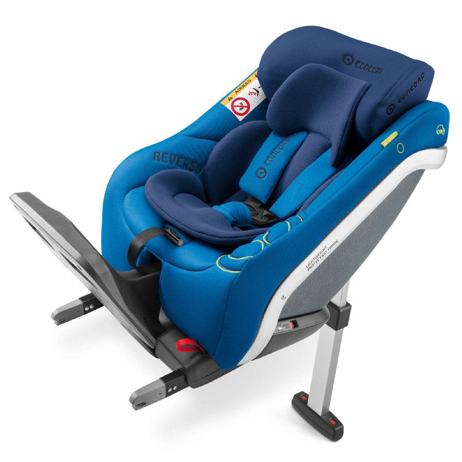 Reboarder Kindersitz: Concord Reverso Plus in Snorkel Blue (bis 23kg bzw. 105cm Körpergröße)