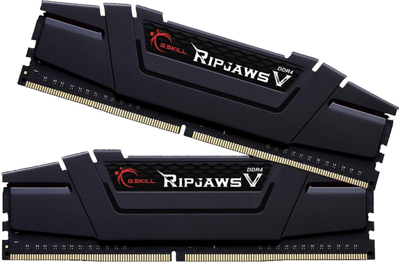 G.SKill Ripjaws V 16GB Black DDR4-3600 Kit CL16 für 32,23€ (Amazon IT)