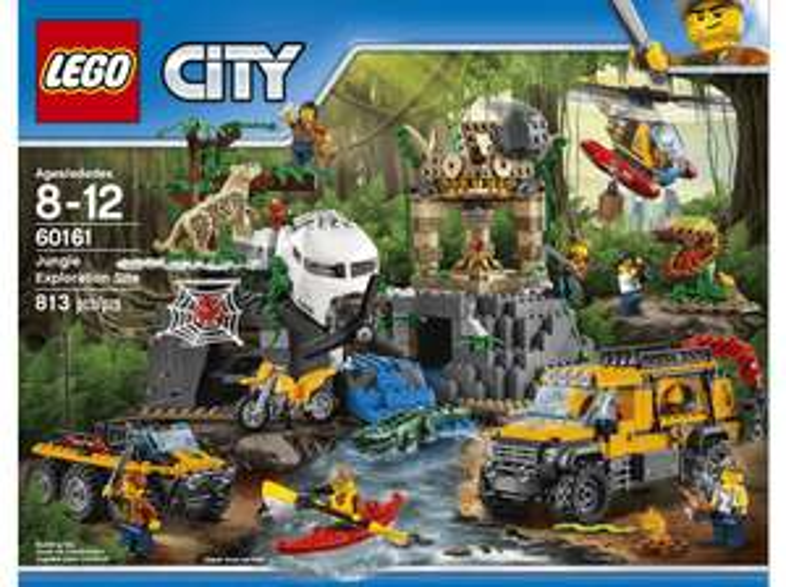 EWD: z.B. LEGO Dschungel-Forschungsstation (60161) - 49,99€ | Vinyl-Sammlereditionen - 49,99€ | Big Sand- /Wassermuschel - 11,99€