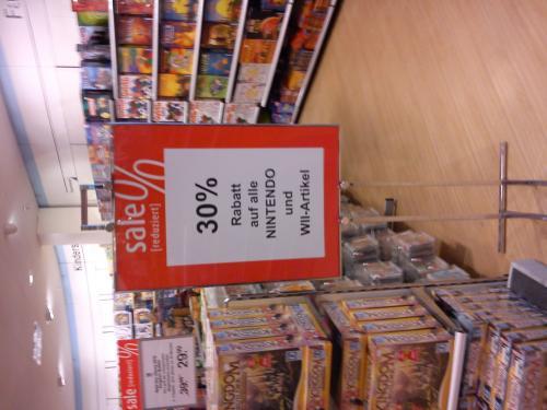 Galeria Kaufhof 30% auf Nintendo