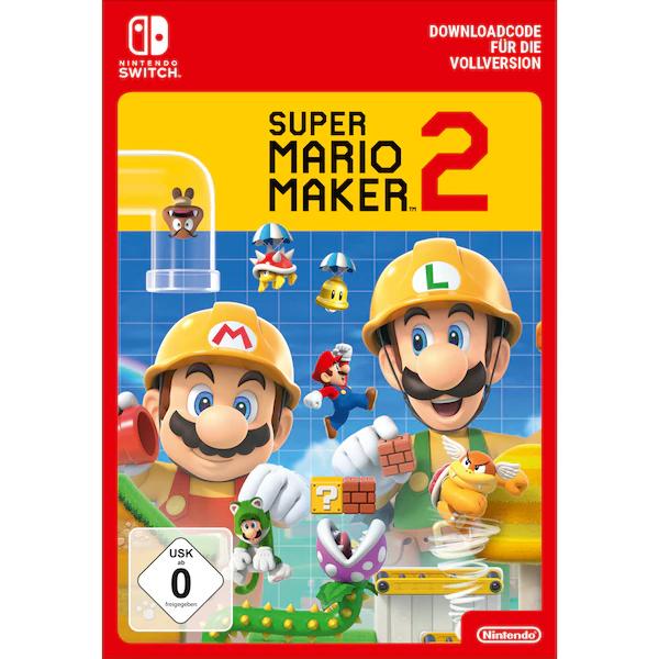 Super Mario Maker 2 - Downloadcode für die Nintendo Switch