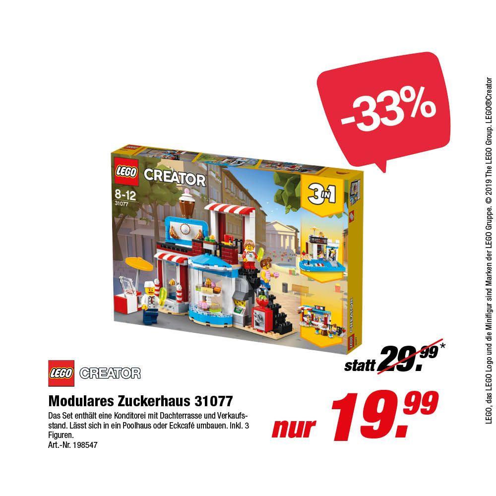 [Rofu Offline] LEGO Creator - 3 in 1 Modulares Zuckerhaus (31077)