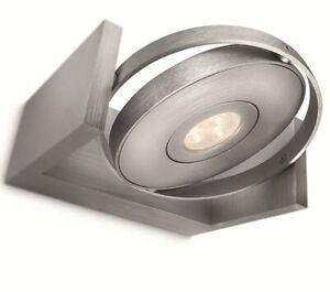Philips LED Wandlampe Spot Particon 1-Flammig Aluminium Warmweiß
