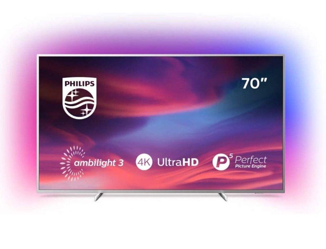 250€ Sofortrabatt - Philips Ambilight 70PUS7304/12 Fernseher 178 cm (70 Zoll) Smart TV