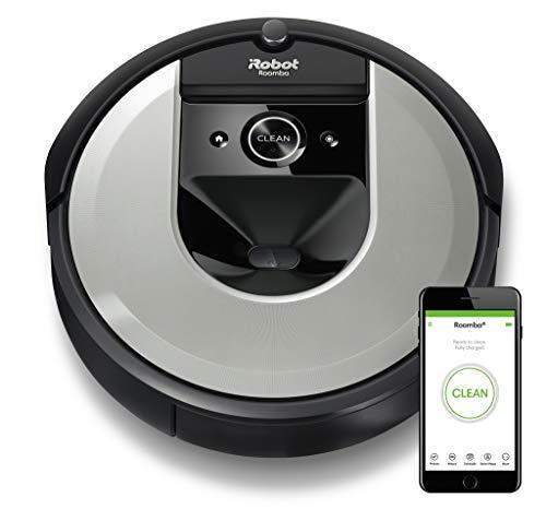 iRobot Roomba i7 (i7156) Saugroboter, intelligente Raumerfassung, 2 Multibodenbürsten, WLAN App [Amazon.de]