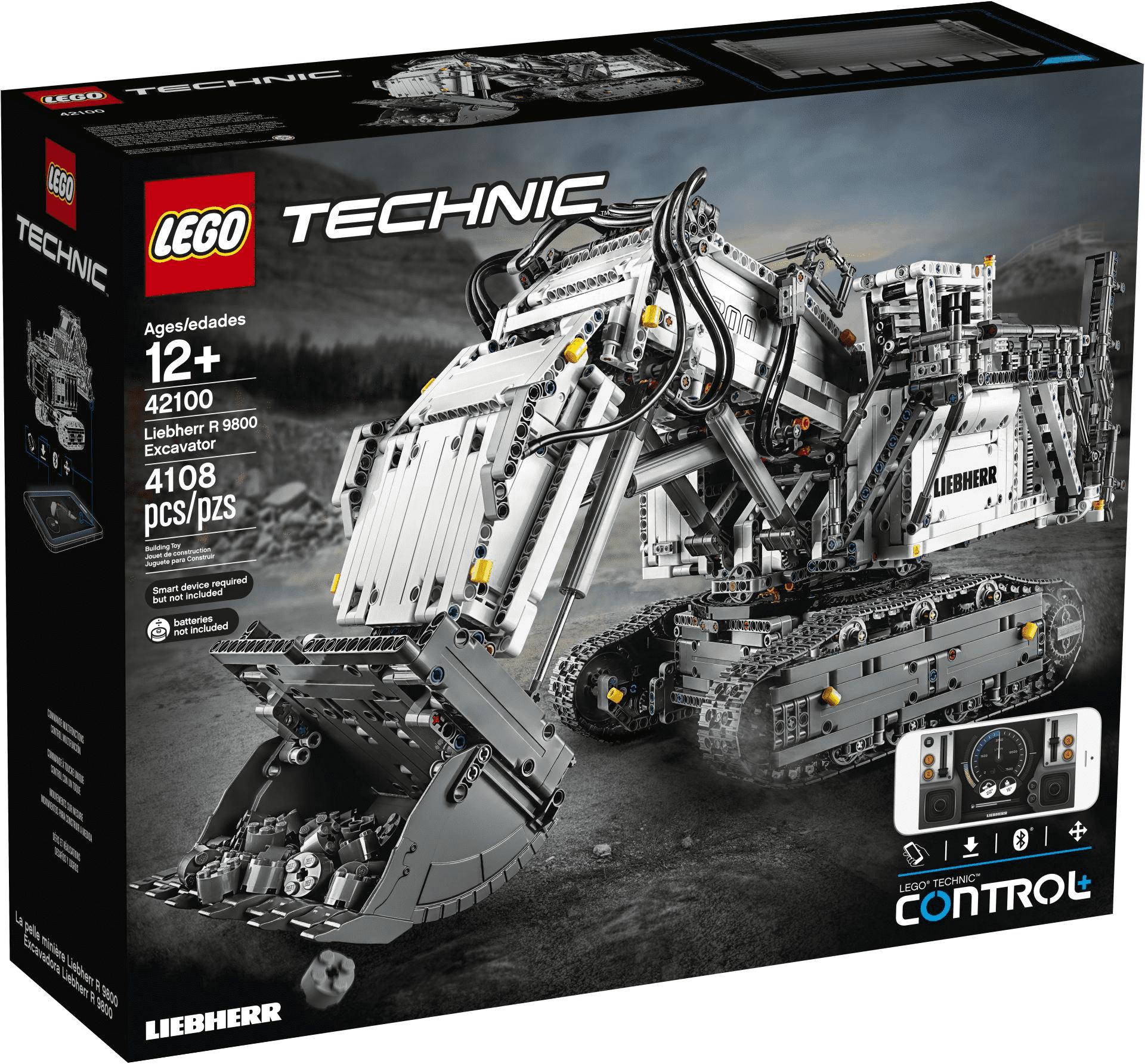[MARKTKAUF] Minden/Hannover LEGO TECHNIC 42100 - Liebherr Bagger R9800 für 333,00€