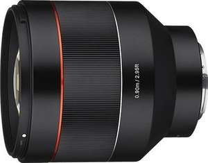 [Amazon.it] Samyang AF 85mm 1.4 FE für Sony E-Mount Vollformat Objektiv (A7)