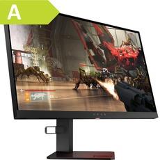 OMEN by HP X25f, LED-Monitor (schwarz, 240 Hz, TN, FreeSync, FullHD) - FreeSync, 48-240Hz (DP), 48-240Hz (HDMI), NVIDIA G-Sync Compatible