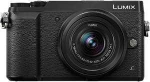 Panasonic Lumix DMC-GX80 Kit 12-32mm (16 Megapixel, Dual I.S. Bildstabilisator,Touchscreen, Sucher, 4K Foto und Video)