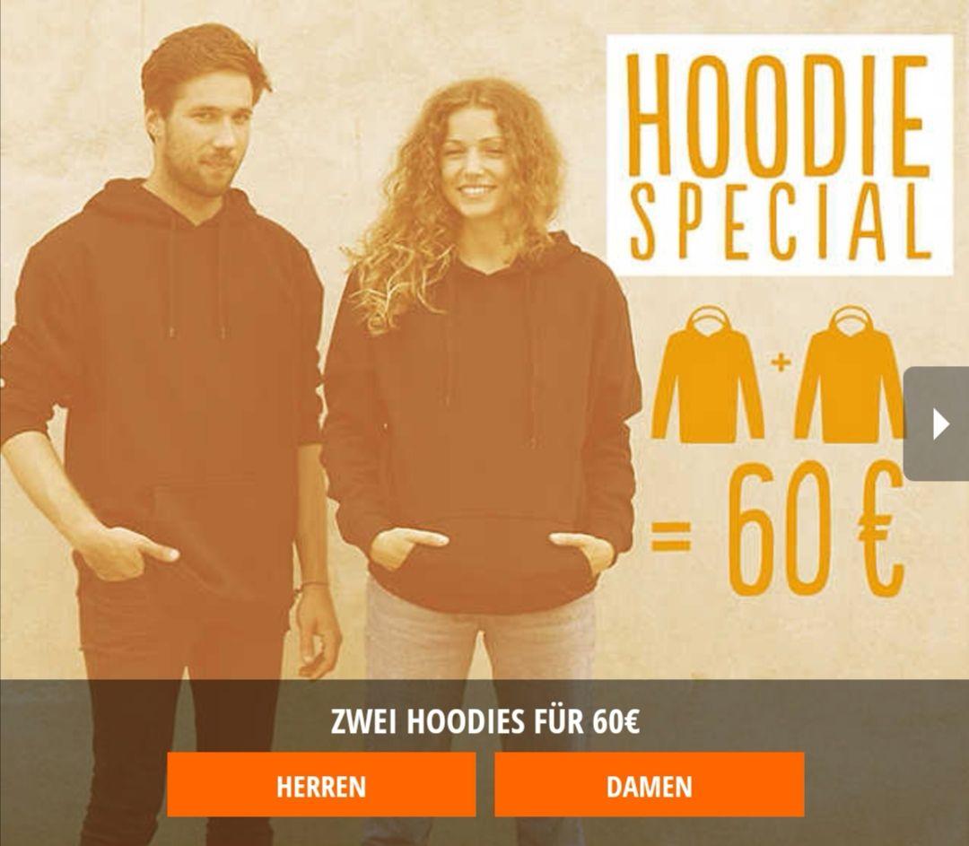 2 Hoodies für 50€ bei Blue Tomato dank Newsletter