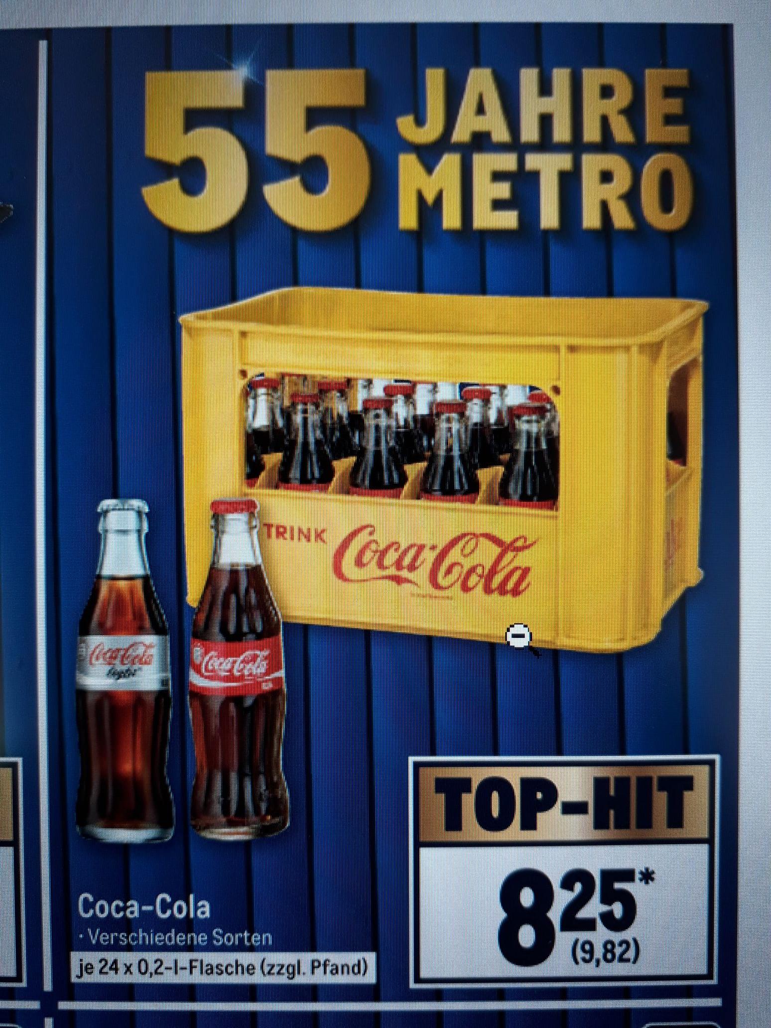 [Lokal] Coca Cola, Fanta, Mezzo, Sprite 0,2l Flaschen