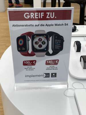 Implement-IT Apple Watch Series 4 Lokal (Saarbrücken)
