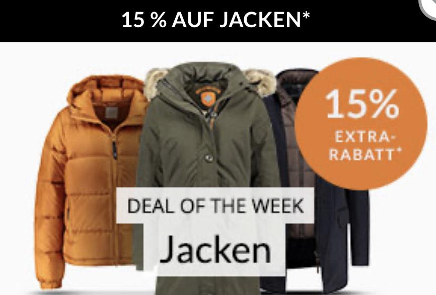 Engelhorn -15% auf Jacken (online)
