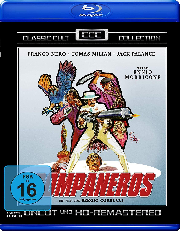 Companeros Classic Cult Collection (Blu-ray)  für 4,99€ bzw. 4,25€ (Müller)