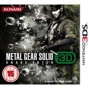 Nintendo 3DS - Metal Gear Solid: Snake Eater für €12,03 [@Zavvi.com]