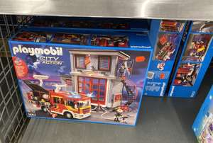Lokal REAL Bruchsal Playmobil 9052 City Action Feuerwehr