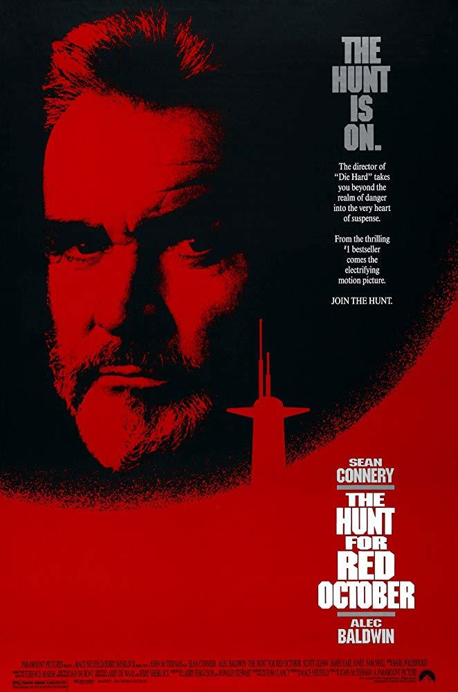 """""""Jagd auf Roter Oktober"""" (USA 1990) mit Sean Connery & Alec Baldwin - ab 13.10. kostenlos im Stream und als Download"""