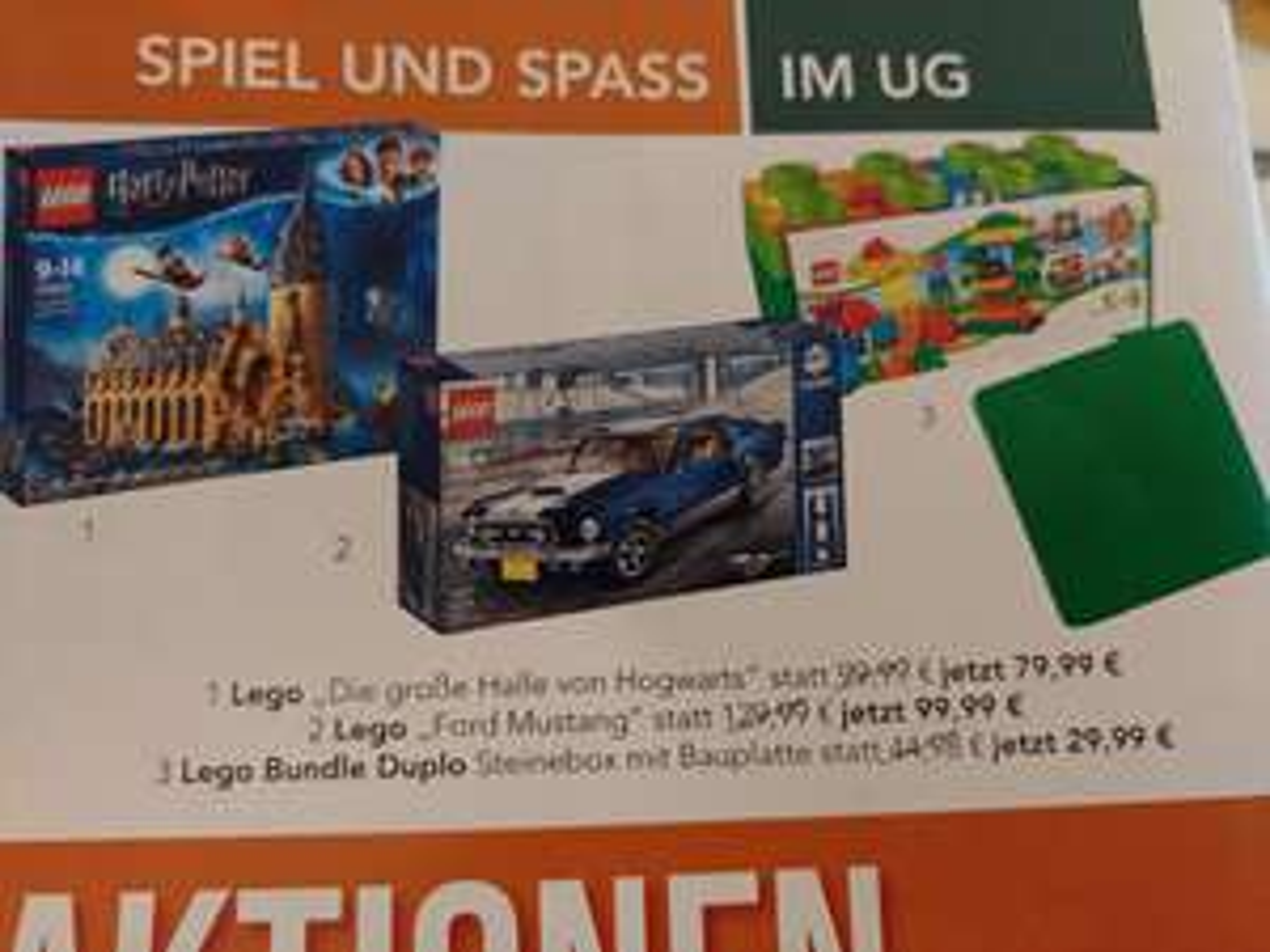 [lokal 41539] Lego 10265 Creator Ford Mustang