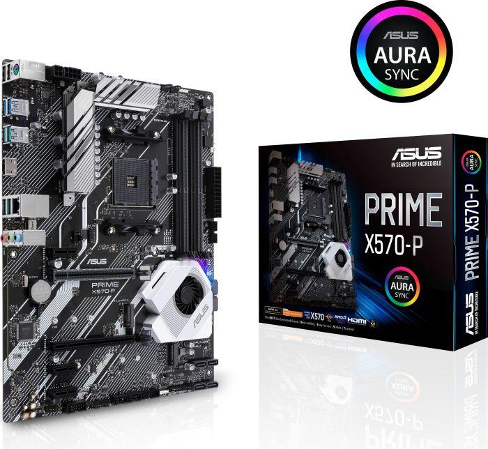 ASUS Prime X570 P Gaming Mainboard für 131,15€ (-22%) mit ASUS Cashback
