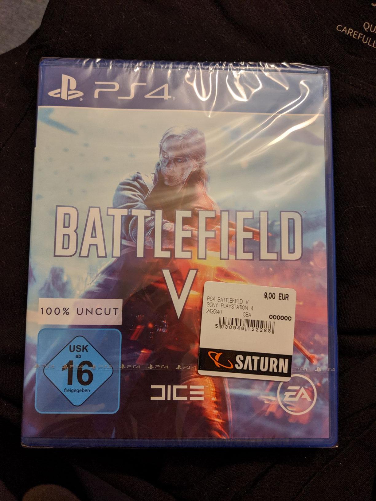 Battlefield V PS4 (Lokal Saturn Bremen, Papenstraße)