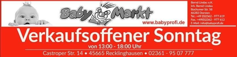 Lokal Babyprofi - Baby Discount Recklinghausen 20% auf Joolz und 10% auf alles andere