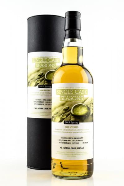 Glen Spey 2007/2019 (Spring) Single Cask Seasons Signatory Vintage 49,8% vol. Single Malt Whisky