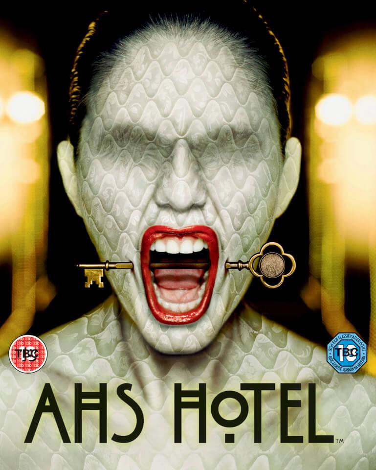 American Horror Story Hotel - AHS Staffel 5 Blu-Ray Serie Import mit deutschem Ton
