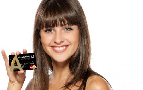 Interessante Arcaden Shopping Gold Club mit gebührenfreien Mastercard