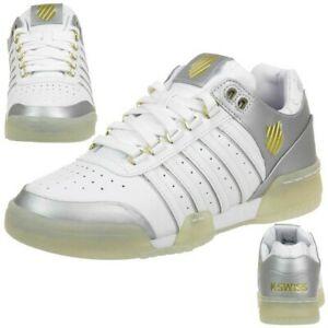 """K-Swiss Leder-Sneaker """"GSTAAD"""" für Kinder oder Damen (Größe 38, 39.5) *versandkostenfrei* [Sneakerprofi@Ebay]"""