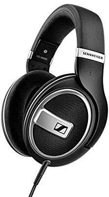 Sennheiser HD 599 Open Kopfhörer auf der Rückseite, Special Edition, Schwarz [Amazon.it]