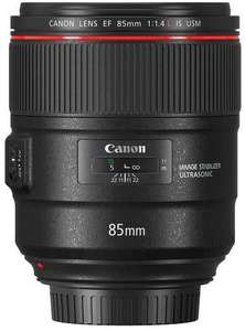 Canon EF 85mm f1.4 L IS USM f. 1245€