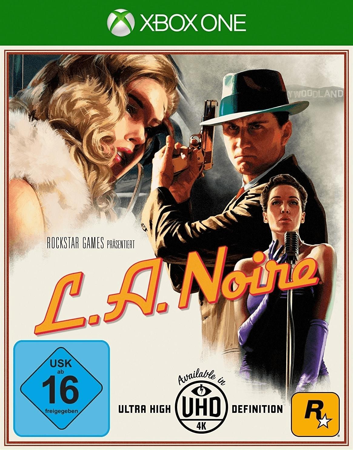 L.A. Noire (Xbox One & PS4) für je 7,99€ (GameStop & Amazon Prime)