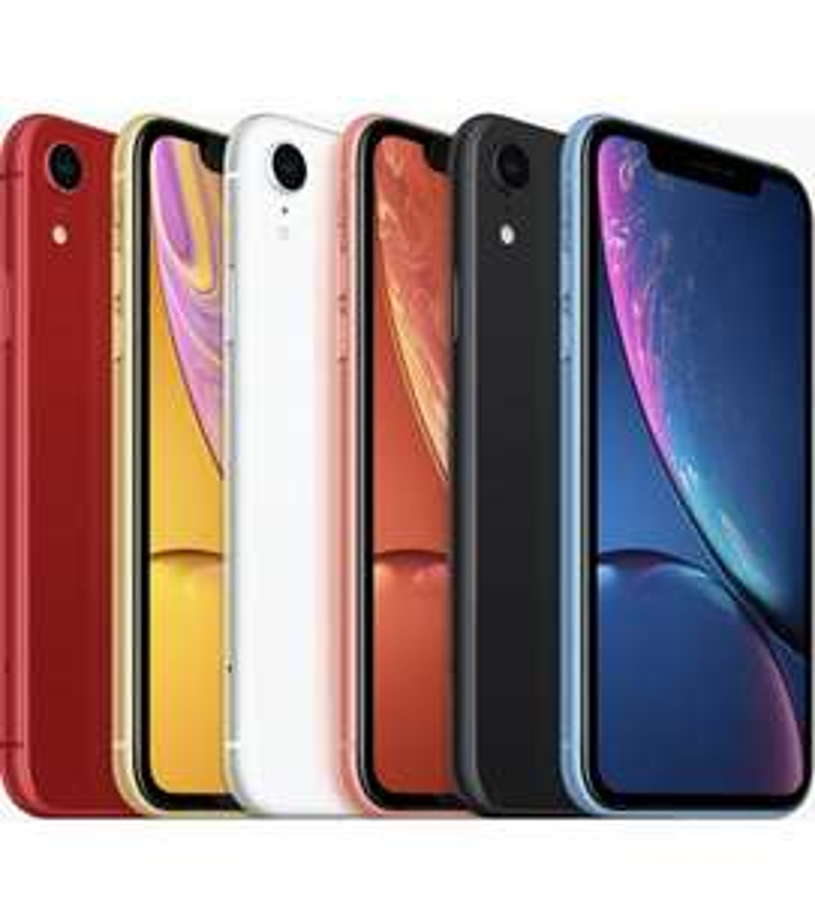 Apple iPhone XR - 64GB - Schwarz - Weiß - Rot - NEU & OVP [differenzbesteuert]