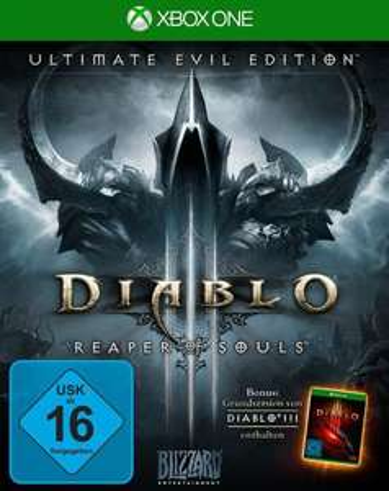 Diablo III: Reaper of Souls - Ultimate Evil Edition (Xbox One) für 8,99€ (GameStop)