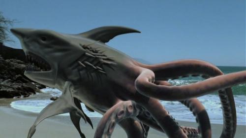 50% Hai - 50% Oktopus - 100% KILLERMASCHINE ! SHARKTOPUS BLU-RAY