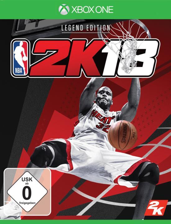 NBA 2K18 Legend Edition (Xbox One) für 9,99€ & Standardversion (PS4) für 7,99€ (GameStop)