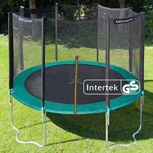 Ultrasport Outdoor Gartentrampolin Jumper Ø 366 cm, Komplettset [Amazon]