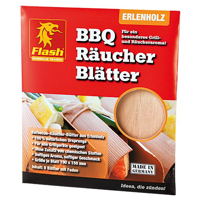 [Bauhaus lokal] Grill Räucher-Blätter Boomex Flash Erle 8 Stück / Wood Wraps  / Räucherpapier