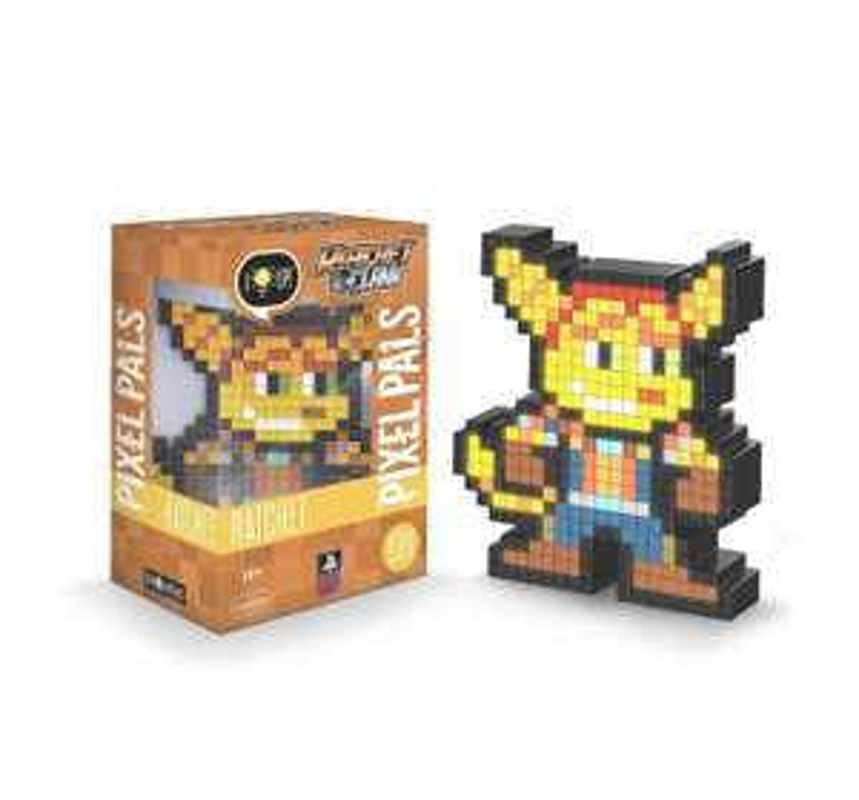(GameStop) Pixel Pals Ratchet - Dekoration mit Leuchtfunktion