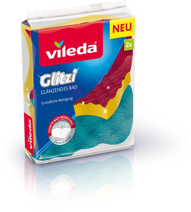 100% Cashback [GzG] - Vileda Glitzi Glänzendes Bad (2er Pack) Gratis Testen