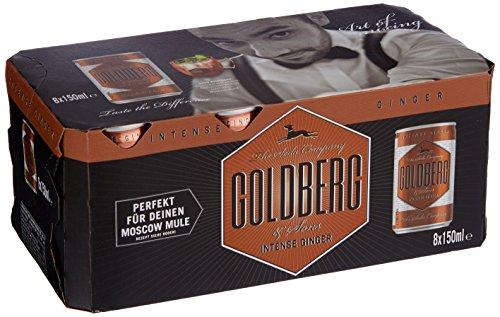 [Amazon Prime] 14,19€ durch Pfandfehler! Goldberg Intense Ginger Fridge, 3er Pack, (3 x 8 x 150ml)